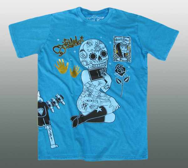 Shiroi Neko Tattoo T-Shirt